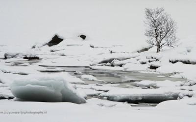 Rondwandeling Vatterfjord, Lofoten,Noorwegen, 8-3-2016