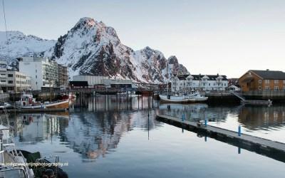Zonsopkomst inSvolvaer, Noorwegen, 9-3-2016