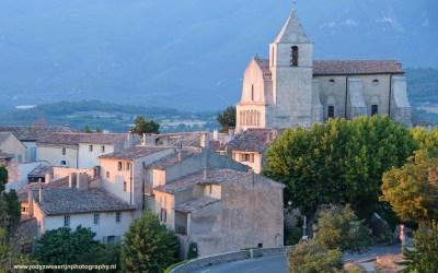 Zonsondergang bij Saignon, Provence, Frankrijk, 8-7-2016