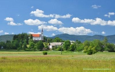 Uitzicht op het dorpje Zerovnica, 6-7-2014