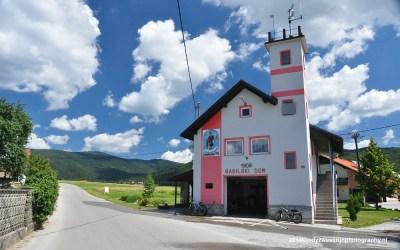 Brandweerkazerne van Zerovnica, Slovenië, 6-7-2014
