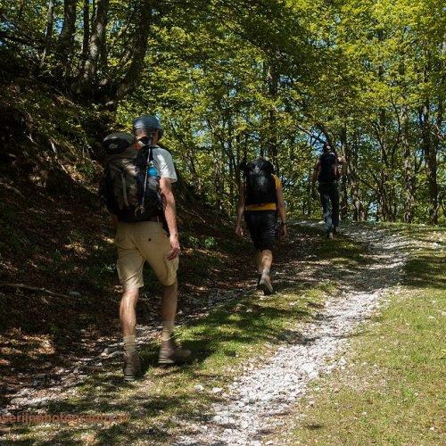 Onderweg richting Revuelta del Tejo, Picos de Europa, Spanje, 20-5-2018