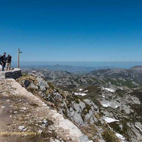Beter om om te keren, Picos de Europa, Spanje, 20-5-2018