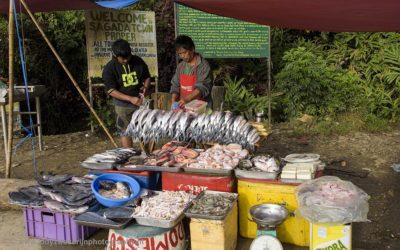 Markt in Sagada, Luzon, Filipijnen, 18-11-2017
