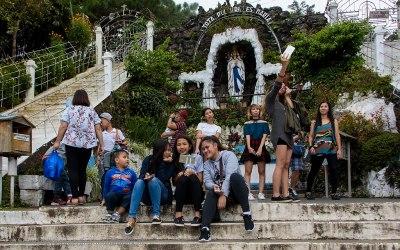 Our Lady of Lourdes church, Baguio, Luzon, Filipijnen, 18-11-2017