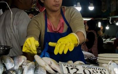 Baguio City Market, Baguio, Luzon, Filipijnen, 18-11-2017