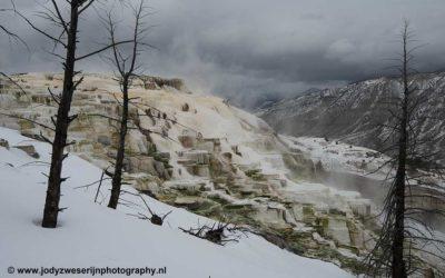 Mammoth Hot Spring, yellowstone, USA, 20-1-2019