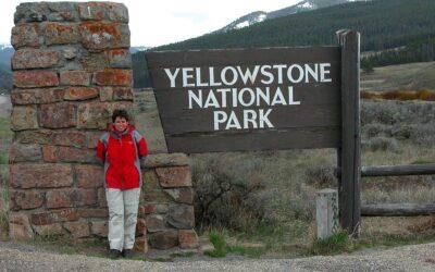 Westingang van Yellowstone