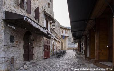 Oude binnenstad Mostar, Bosnië, september 2019