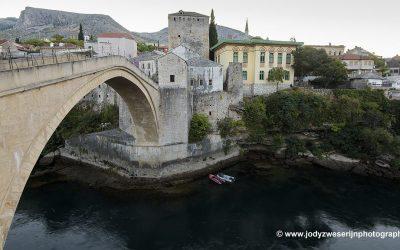 Stari Most, Mostar, Bosnië, september 2019