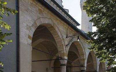Gazi-Husrev-Begmoskee, Serajevo, Bosnië, september 2019