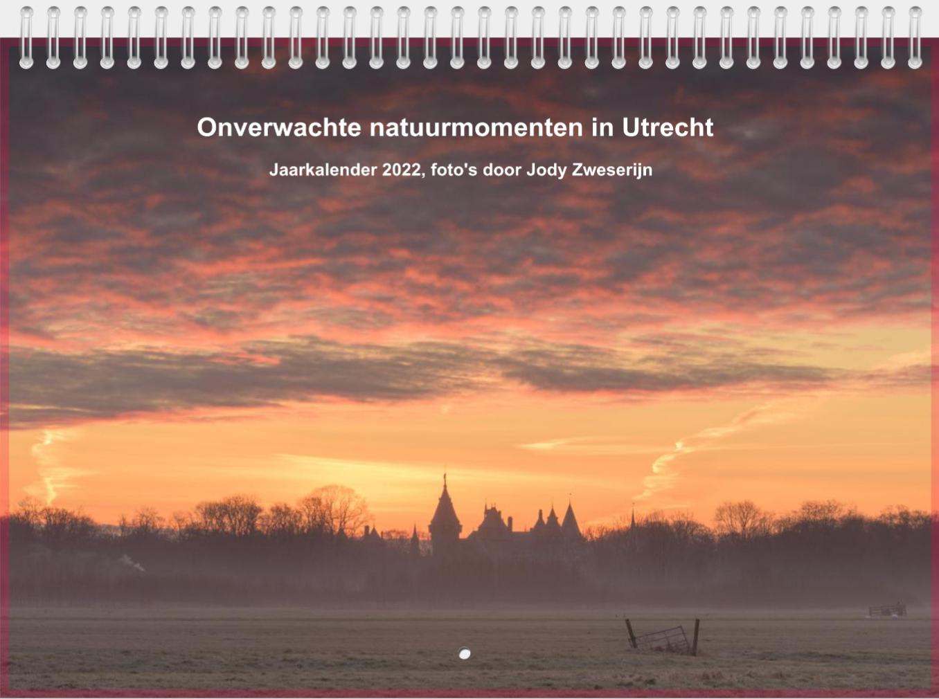 jaarkalender 2022 Onverwachte Natuurmomenten