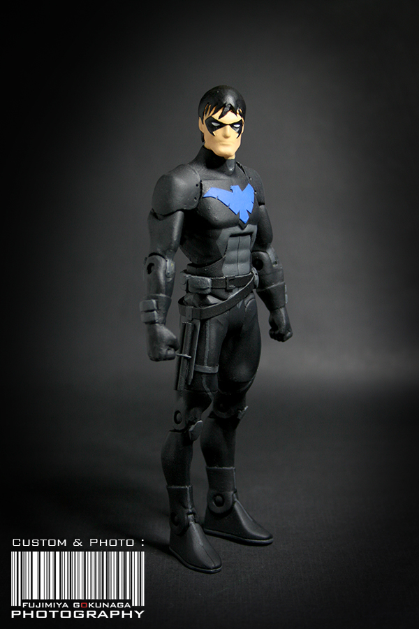 Cool Custom Figure Nightwing Young Justice Invasion  News Blog  JoeAcevedocom