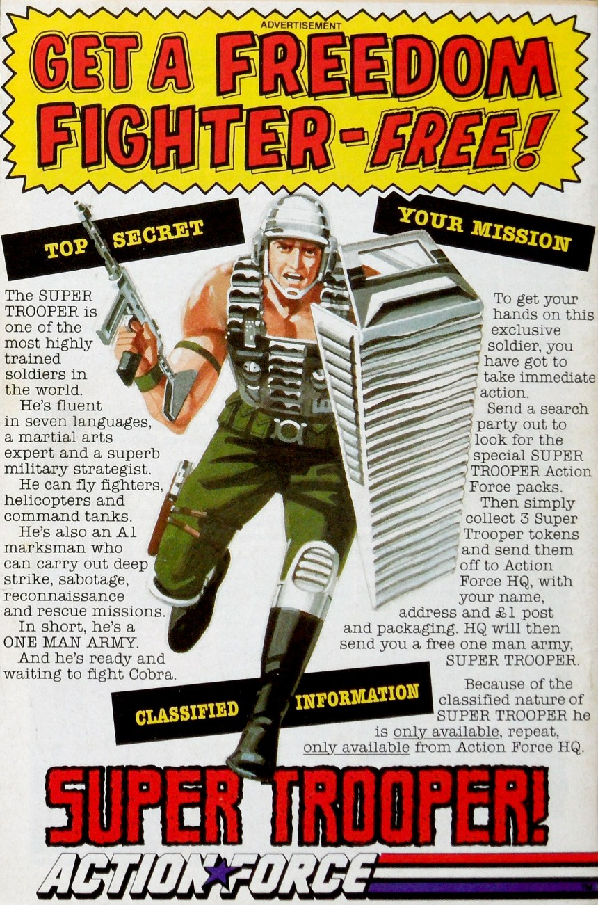 Super Trooper Advert
