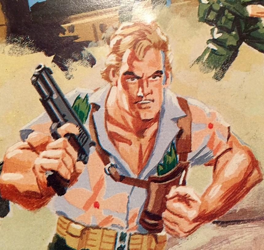 GI Joe Folding Tray (1987)