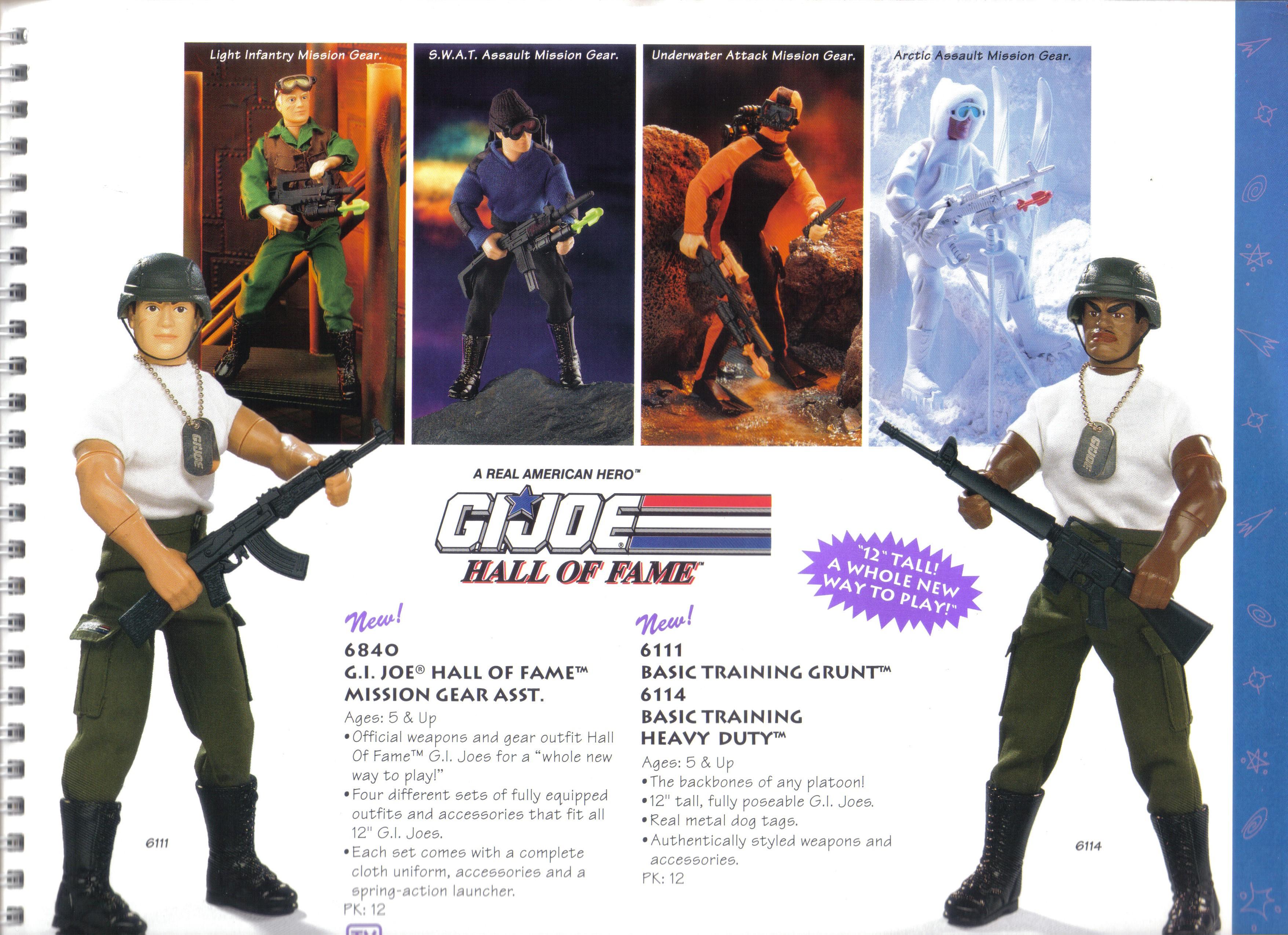 Hasbro 6114 Joe Basic Training Heavy Duty 12 Action Figure Hall of Fame 1992 G.I A real American Hero