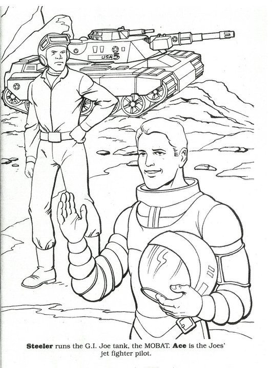 Coloring Time: Steeler and Ace
