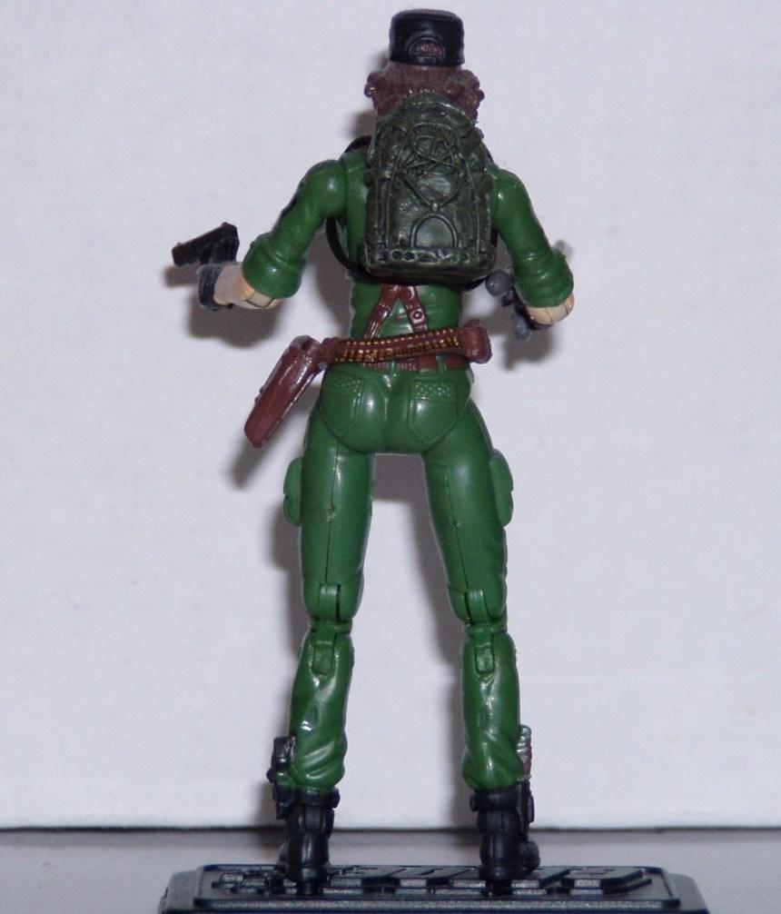 GI Joe Weapon Spy Troops Lady Jaye Leg Armor Right Original Figure Accessory
