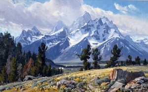 From Still Life to Summit; the Evolution of an Alpine Artist
