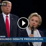 Segundo debate Hillary-Trump. Poca voluntad, muchos enredos.