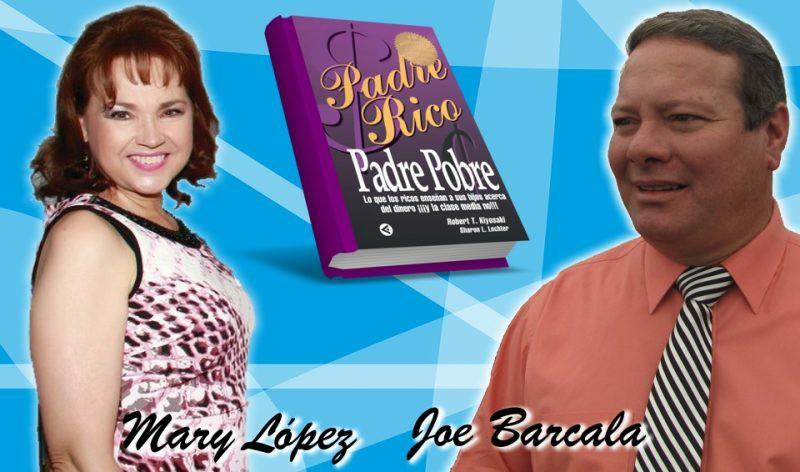Padre Rico, Padre Pobre, programa de radio con Joe Barcala