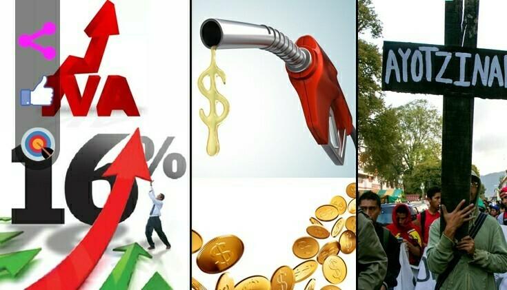 ¿Acostumbrados al 16% de IVA? ¿Felices con los precios de la gasolina?