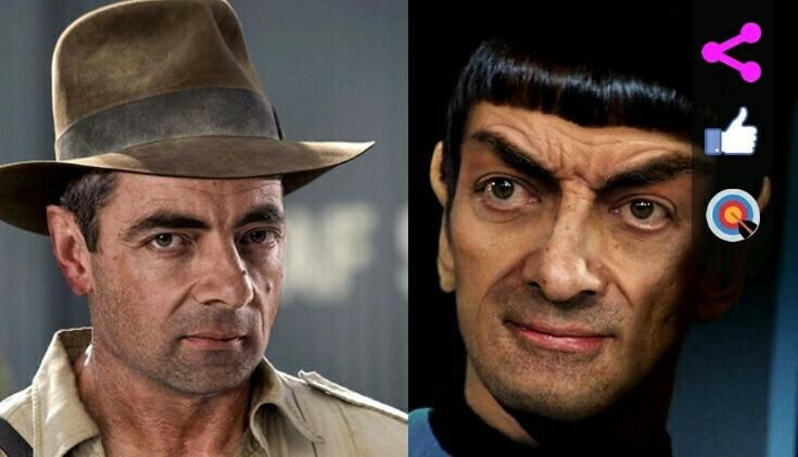 Mr. Bean es convertido en personajes de película, ¡maravillosas!