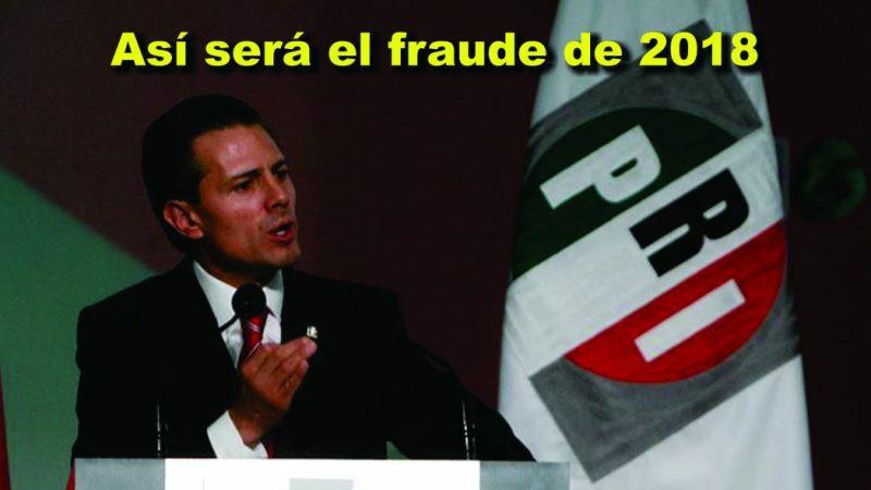 ¿Quedó claro como intentará el PRI imponer al próximo presidente?