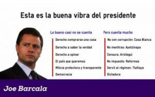 Peña Nieto buena vibra, optimismo