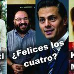 ¿Felices los cuatro? Xochitl, amante de Duarte, entra al quite.