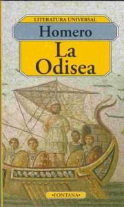 Portada del libro La Odisea de Homero, Grecia