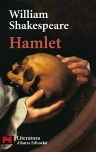 Portada de Hamlet, una tragedia del inglés William Shakespeare
