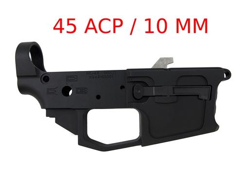 Spartan45ACP Glock Magazine Compatible Billet Lower Receiver