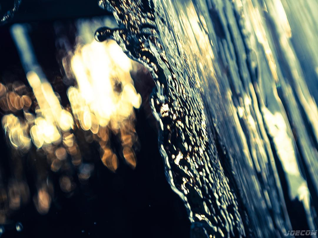 bokeh waterfall