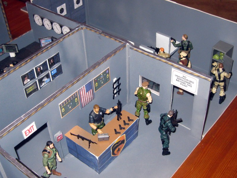 JoeCustomscom  Playsets  GI Joe  Headquarters