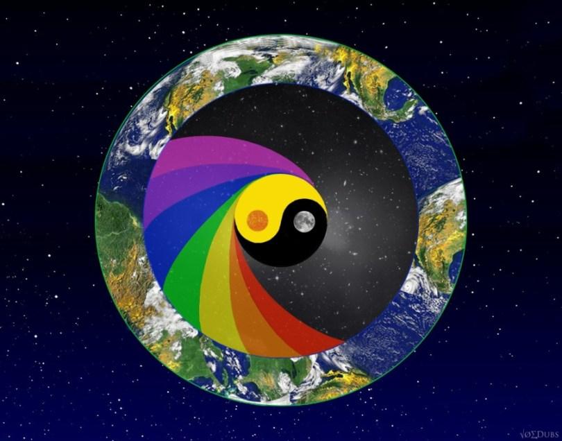 earth moon yin yang
