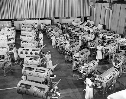iron lungs