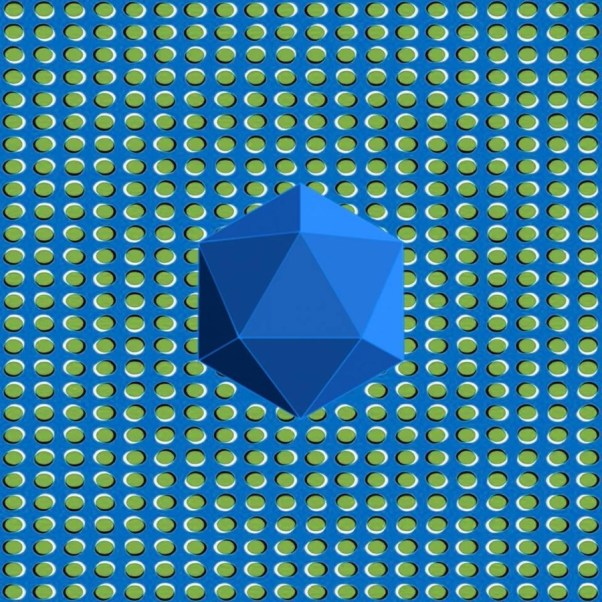 icosahedron illusion
