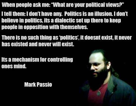 Mark Passio on Politics