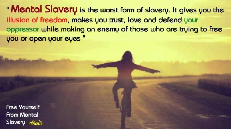 mental slavery