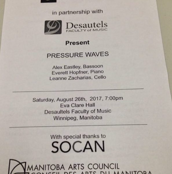 """GroundSwell Presents """"Pressure Waves"""""""
