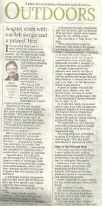 Joe Eddie - Catfish Songs - Brad Dokken - Northland Outdoors - Grand Forks Herald