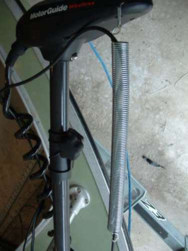 Trolling Motor With Sonar Transducer On Wiring Plug For Trolling Motor