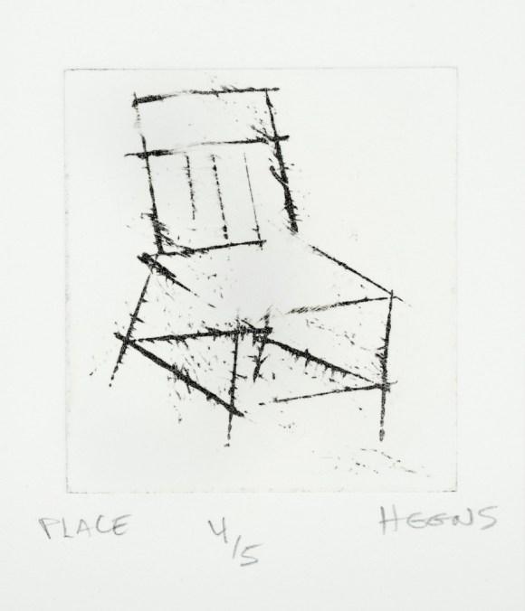 Place, Intaglio, 4/5, 2011