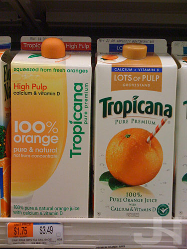 Tropicana Orange Juice With Pulp