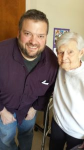Grandmom and me.