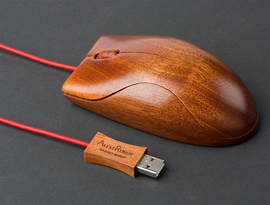 Alest Rukov Wooden Mouse1