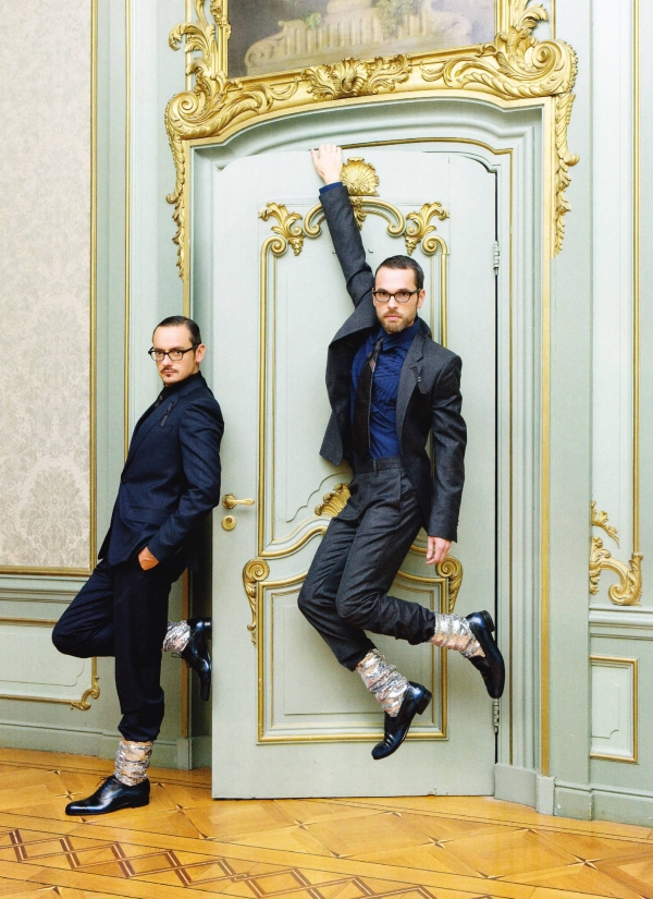 GQ Style Italy Viktor and Rolf1