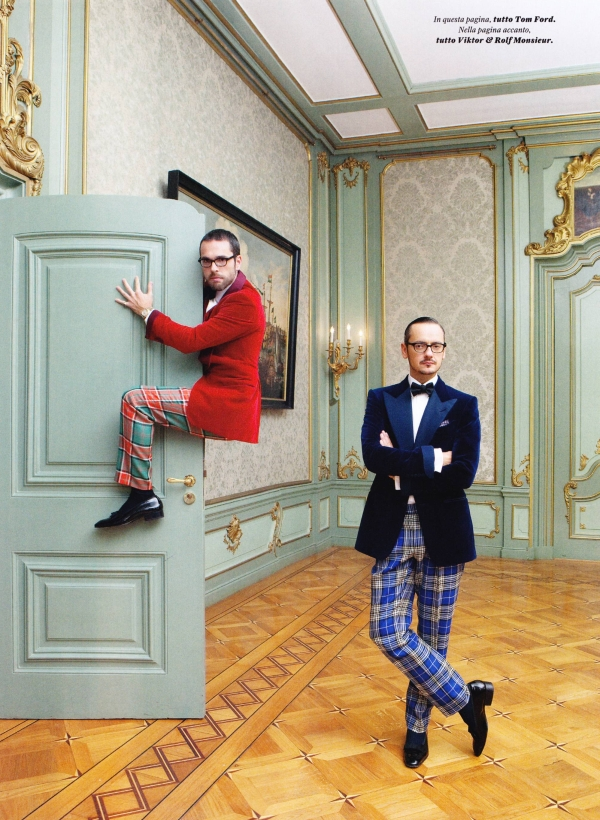 GQ Style Italy Viktor and Rolf4