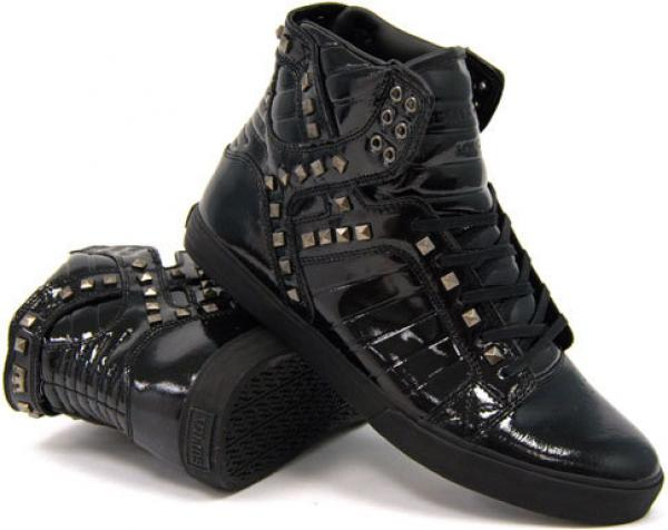 Supra Footwear NS Skytop - Black Studded